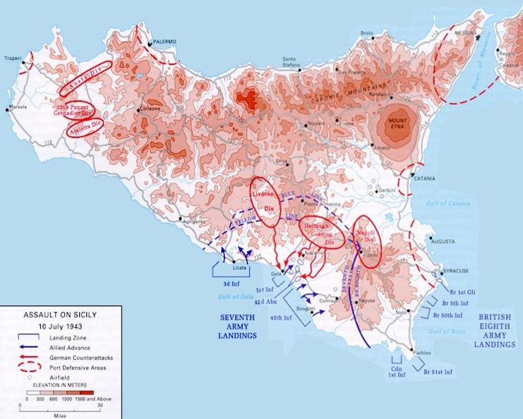 Invasion Sicily