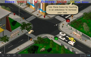 Screenshot of Traffic Control Emergency Pro
