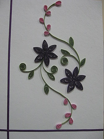 Quilling-flowers-buds
