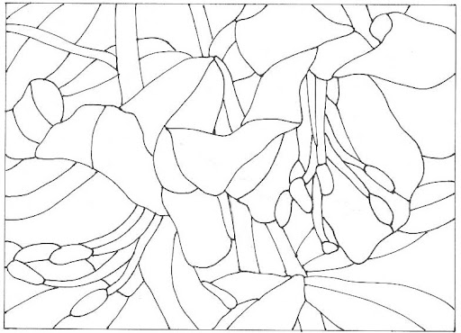 flower designs for glass painting. flower designs for glass