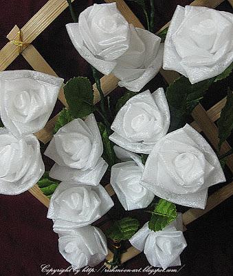 Sponge-rose-flowers