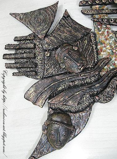 Ceramic-mural-mask