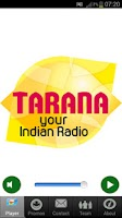 Screenshot of Radio Tarana