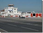 RAF Gib buildings at end of runway