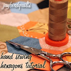 Hand Sewing Hexagons Tutorial