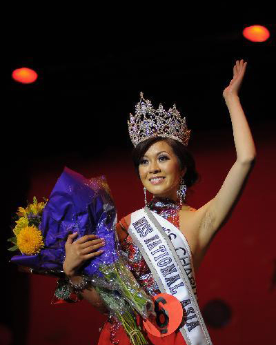Beauty and secret michelle nguyen crowned miss national asia 2010