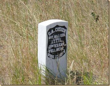 Custer Marker