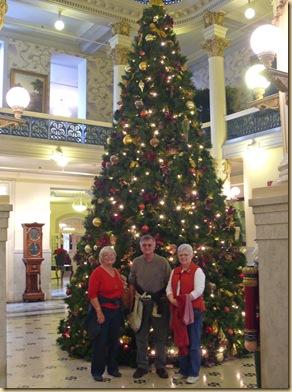 Rollie, Carol, Brenda at Menger Hotel