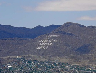 Juarez Sign