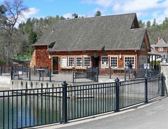 Gift Shop & Viewing Pond