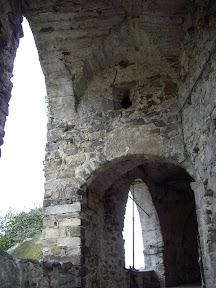 Particolare delle antiche fortrificazioni medievali