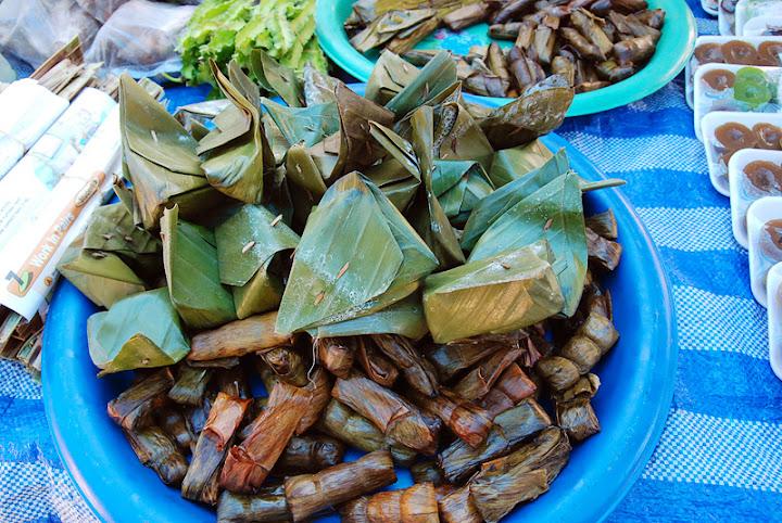 Сладости в банановом листе, Таиланд