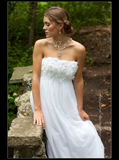 Casual Relaxed Wedding Bridal Gown Ideas