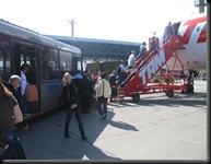 reise til São - ut av flyplassbuss