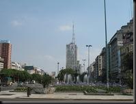 Buenos Aires - 9 juligaten med fontene
