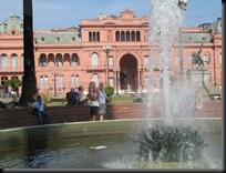 Buenos Aires - Casa Rosa eller Rosada Presidentpalasset