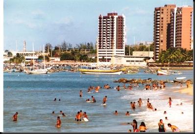 Fortaleza - litt strand og litt by