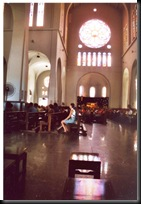 Julestemning Fortaleza domkirke inside