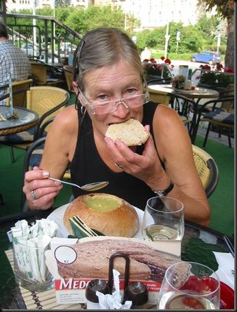 Karlovy Vary - CZ - Suppe i brød