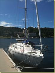 Marias nye båt