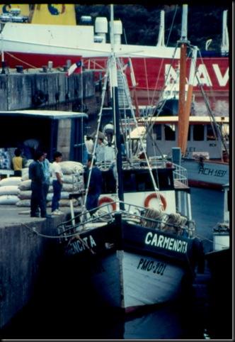 Puerto Montt - fiskebåter
