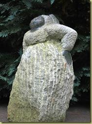 OsloBG - last day - Botanical Garden 4 Statue