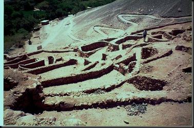 Inka village
