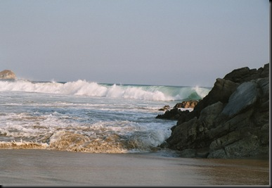 Zipolite - bølger