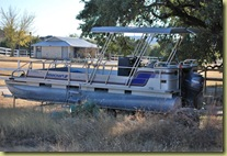 Lago Vista Dec 9 2010 - Roadrunner or a boat