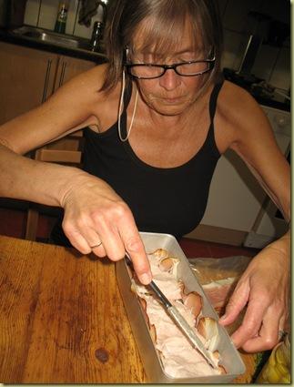 Anna preparing a Dinner