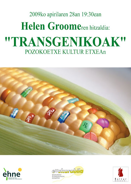 Transgenikoak: hitzaldia (2009-04-28)