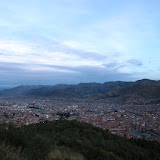 Evening overlooking Cusco
