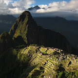 Last light on Macchu Picchu