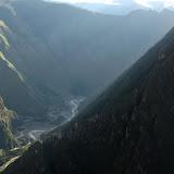 Last rays Urubamba valley