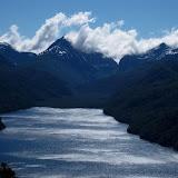 Looking over Lago Villarino from Cerro Faulkner