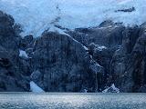 Laguna Sucia and glacier above