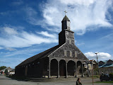 One of many many wooden churches in Chiloe