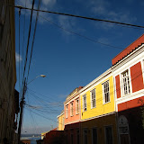 Colourful buildings on Cerro Conception