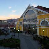 Bus station La Paz