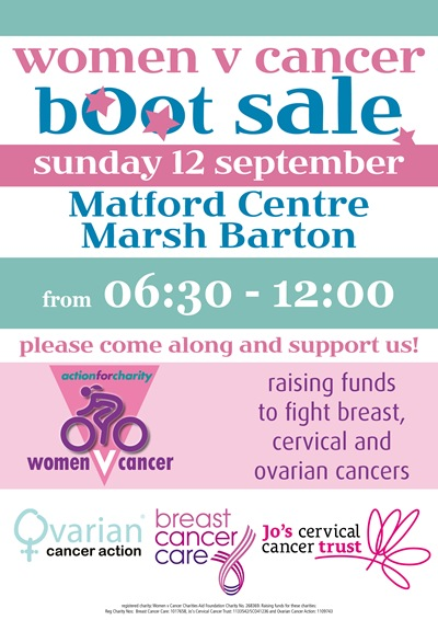 A3 boot sale poster