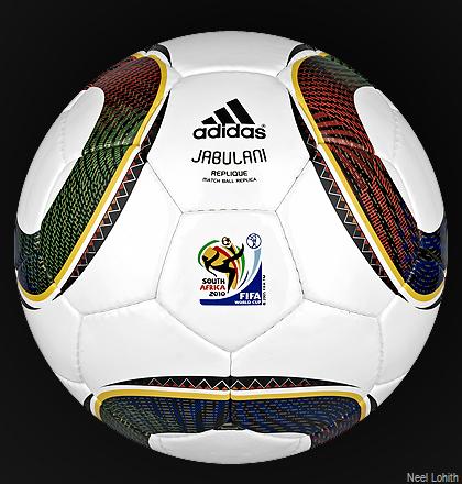 World Cup Jabulani. With the 2010 Cup#39;s Jabulani