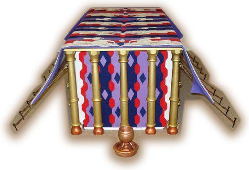 cherubim curtains  tabernacle project