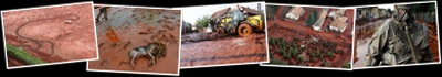 Exibir Derrame tóxico - Hungria - Risco de contaminação