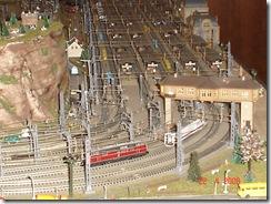 plastico treni scala N 009 stazione