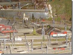 plastico treni scala N 006  piattaforma girevole