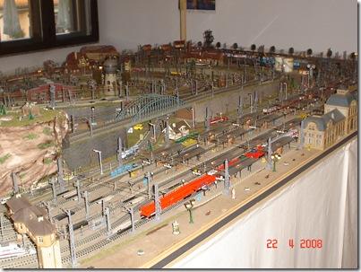 plastico treni scala N 029 panorama