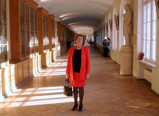 Ольга Зиновьева в Санкт-Петербургском университете