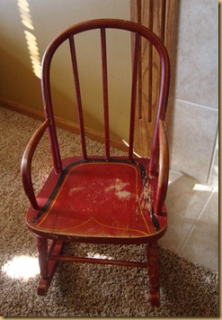 Garage Sale Chair 001