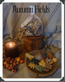 Autumn Fields Salt Dough