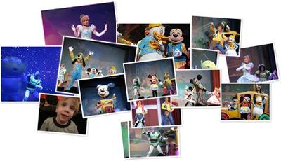 View Disney Live 2009